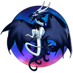 Chibi Luna (Commission) by GlacierDragon