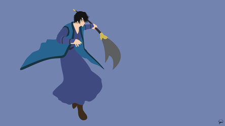 Son Hak (Akatsuki no Yona) Minimalist Wallpaper by greenmapple17