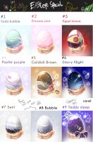 Moon Mermaid Easter Egg Batch[RAFFLE+GAME][CLOSED] by Aro-around