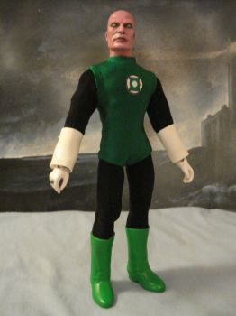 Green Lantern Abin Sur by randomaxedesign