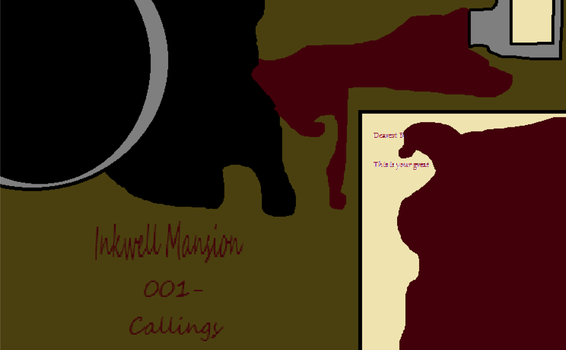Inkwell Mansion- 001- callings| Cover by Nightmarecake4268