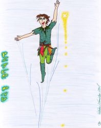 peter pan by lukeNroll