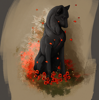 Kiss of the Crimson Poppy by Jacquotte