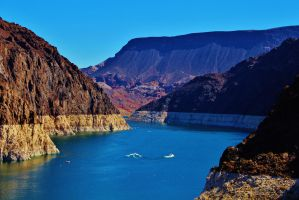 Lake Mead Nevada by AthenaIce