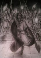 The oath of Feanor by edarlein