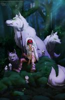 Princess Mononoke by DarkKenjie