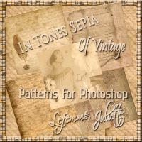 Patterns For Photoshop Of Vintage In Tones Sepia 2 by julietawild07