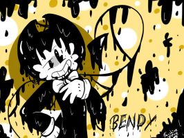 Bendy And The Ink Machine: The Ink Demon by FANSHINE-ZERO
