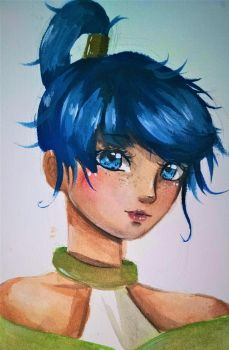 painting practice by MauiCatgirl