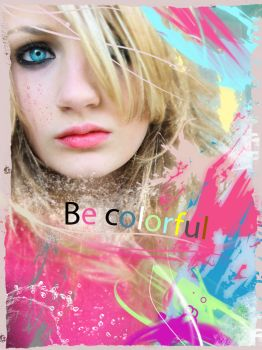 Be colorful by NsaneNoob