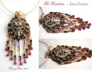 The Guardian Pendant Necklace by ChaeyAhne