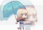 Its a rainy day ~ by alliemews