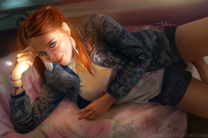 Lighting Study - Laetitia by tjota
