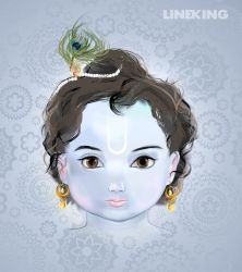 Krishna, Gopala by imlineking