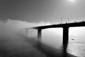 A bridge to unknown by Chris-Lamprianidis