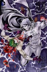 MoonKnight kills Joker by ArtOfIDAN
