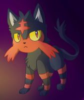 litten by Pinkateatime