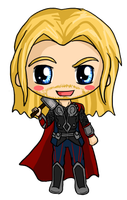 Thor Chibi by IcyPanther1