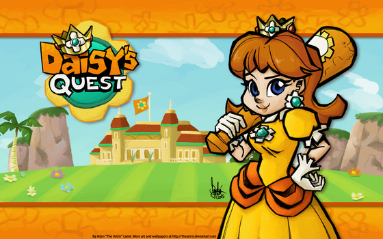 Daisy's Quest wallpaper by TheArtrix