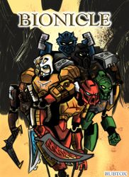 Bionicle 2015: The Coming of the Toa 2 by rubtox