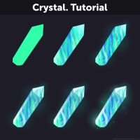 Crystal. Tutorial by Anastasia-berry