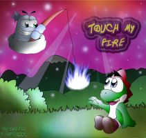 C'mon n touch my fire by DaXXe