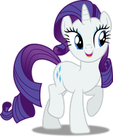 Vector #266 - Rarity #11 by DashieSparkle