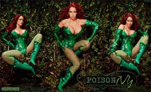 Bianca Beauchamp Poison Ivy Cosplay by lionbadger