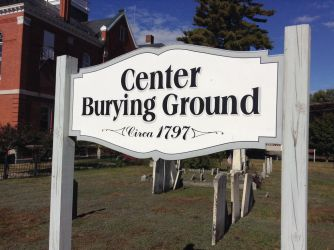 Center Burying Ground Sign by TarmaHartley