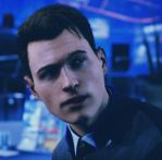 New Model | Connor (RK900) x Lieutenant!Reader by VanillaMetal on