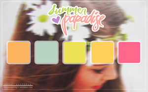 Summer Paradise Color Swatches by PrettyLadySwag