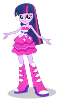 Twilight Sparkle - Equestria Girl by negasun