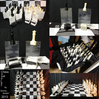 Cosplay Chess Set 04 by Sunnybrook1