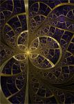 Veins of gold by FractalDesire