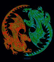 Yinyang Dragon 2 by aircool66