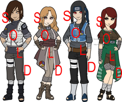 Naruto Fan Clan Adoptables Maeda - SOLD OUT by mistressmaxwell