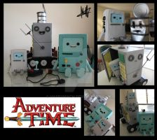 Bots of Adventure Time by HappyMach
