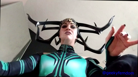 Hela domination pic 2 by fanfictionman2015