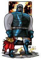 MiniCharacters - Darkseid by NicolasRGiacondino