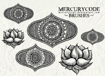 Brushset 06: oriental by mercurycode