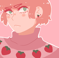 Strawberry girl by Flowerlie