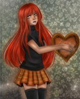 Red power of love by Solceress
