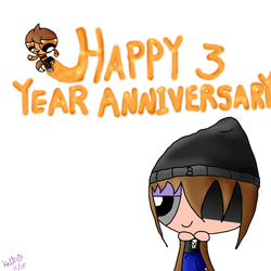 Happy 3 Year Anniversary by KayteeTheArtist
