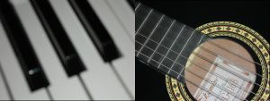 Piano or guitar? by m-l-o-d-a