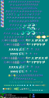 Megaman ZX model X sprite sheet by TechnoKrow
