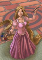 Rapunzel by rithgroove