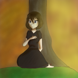 (Renko) Set the Stage of Autumn Among The Trees by ShackledGoddess