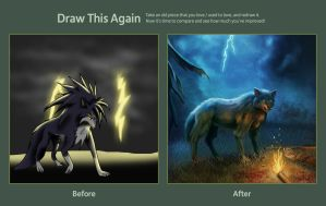 Draw this again contest by cicakkia