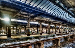 Old Train Station by whydinho
