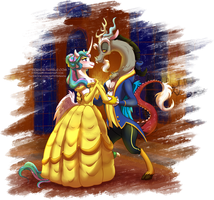 Beauty and the Beast by StePandy